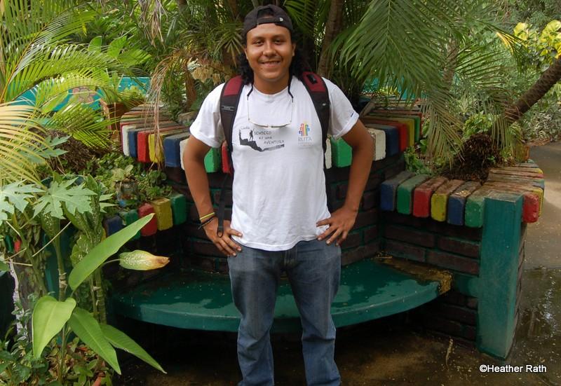 Our guide Alejandro in Leon.
