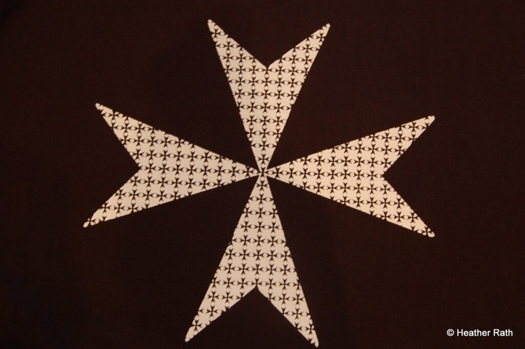 The Maltese Cross was introduced to Malta by the Knights of St. John of Jerusalem.