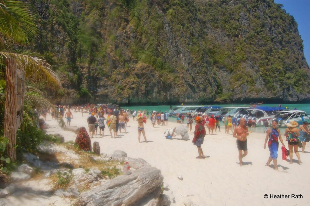 Maya Beach, Koh Phi Phi, Thailand; another famous movie site