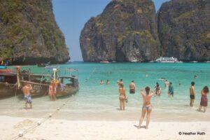 Three Famous Movie Sites in Southeast Asia: Maya Beach, Angkor Wat, Phang Nga Bay