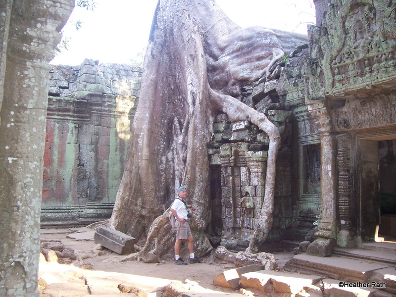 Ta Prohm, part of Angkor Wat in northern Cambodia.