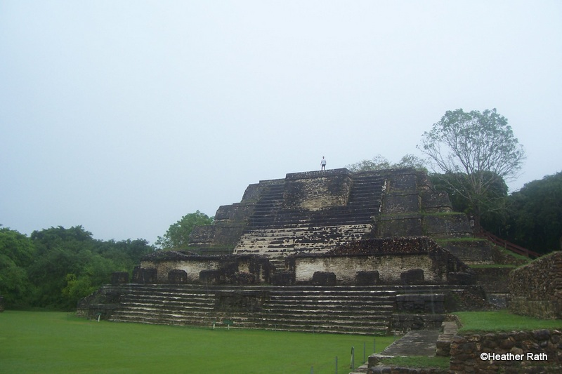 Altun Ha was a weathly Mayan ceremonial centre dating back to 250 CE