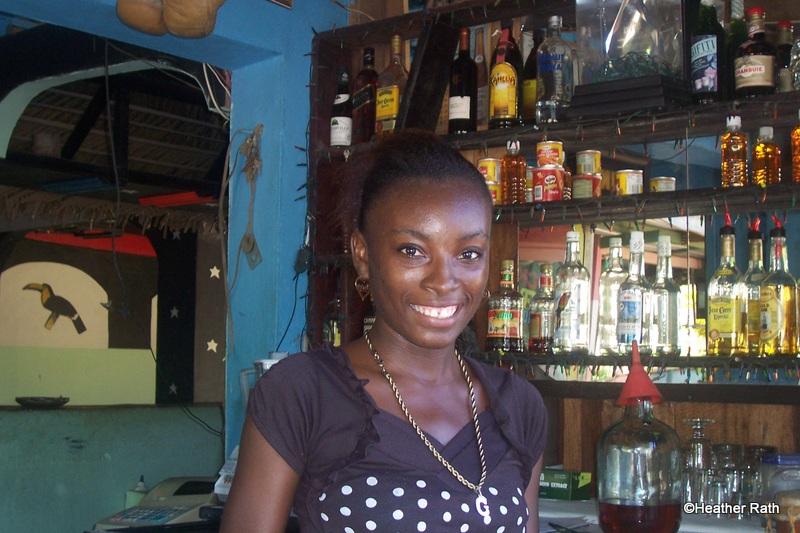 A Placencia bar