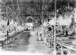 Sleeping Quarters for the POWs.