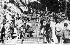 POWs work on the railway.