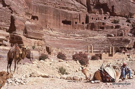 facades of Petra
