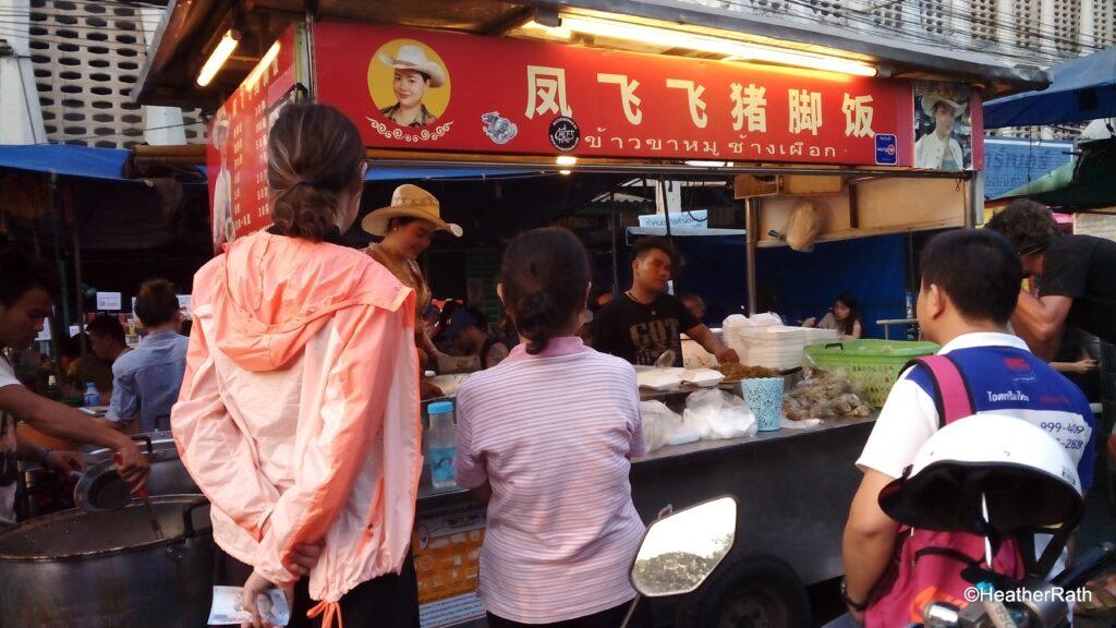 Cowboy Hat Lady food stall