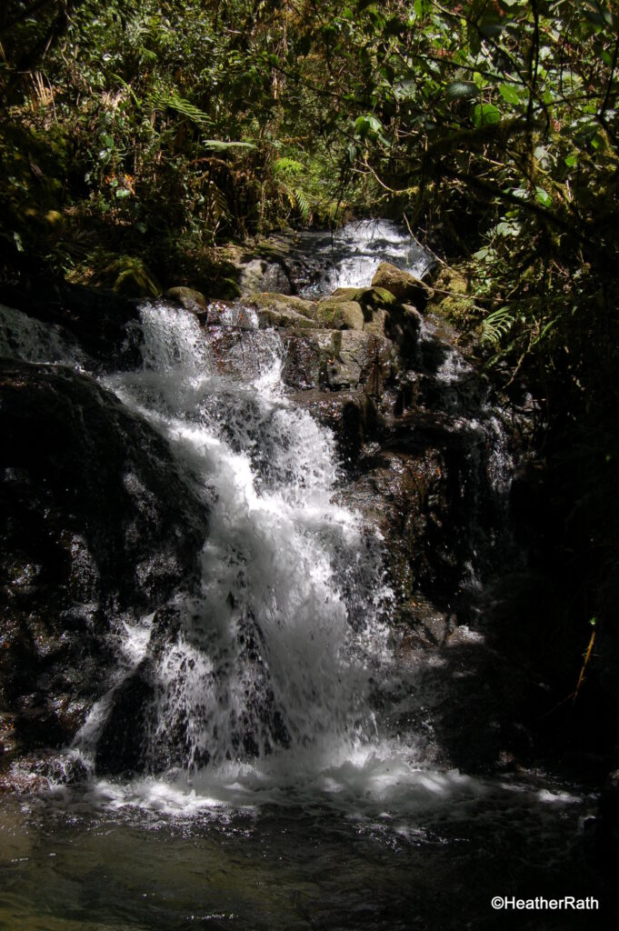 one of the 3 waterfalls
