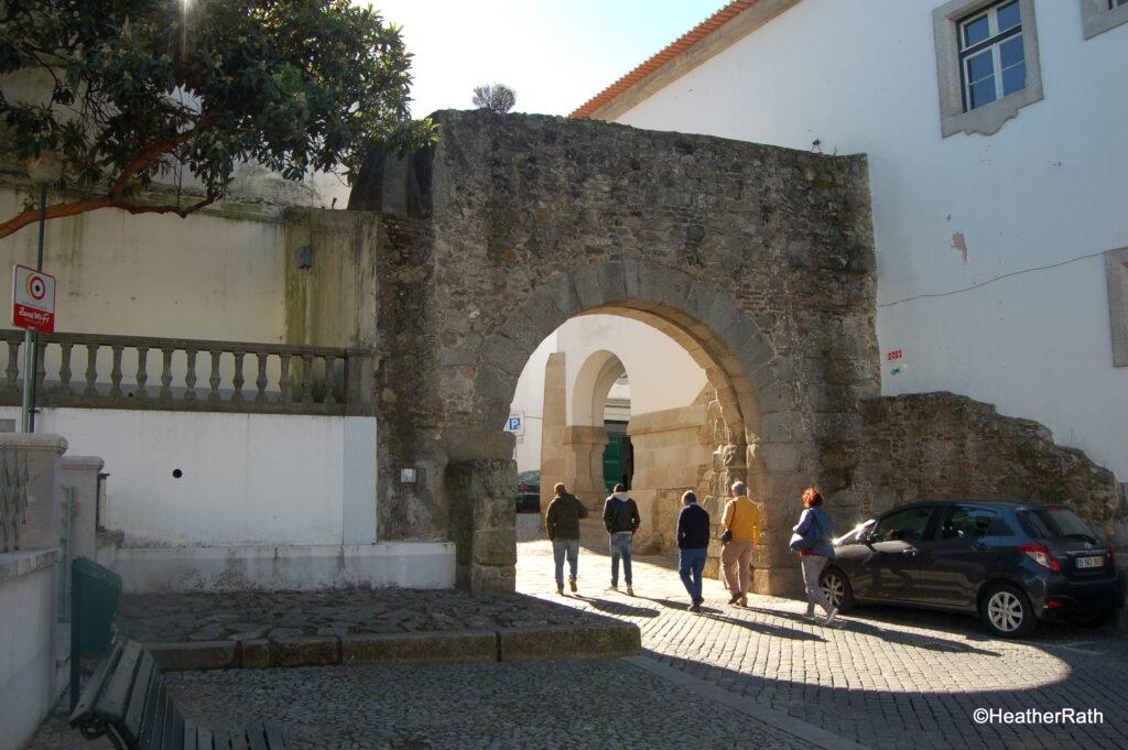 Ancient city walls of Évora