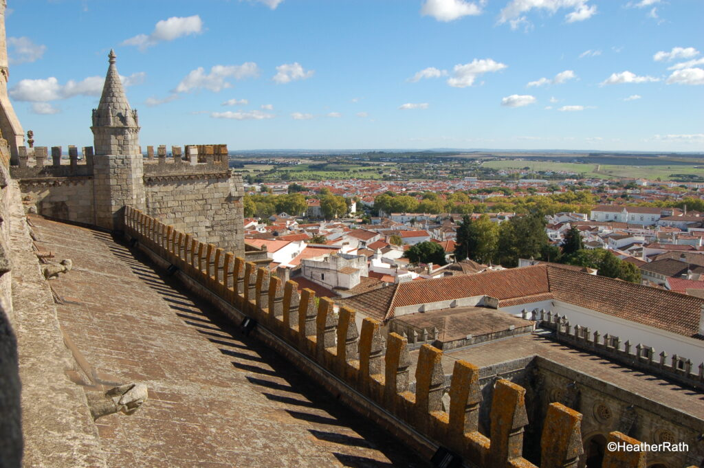 Overlooking Évora