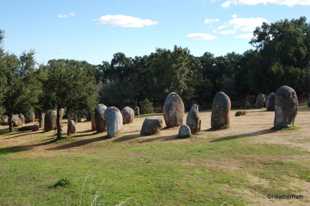Some of the many megaliths near Évora