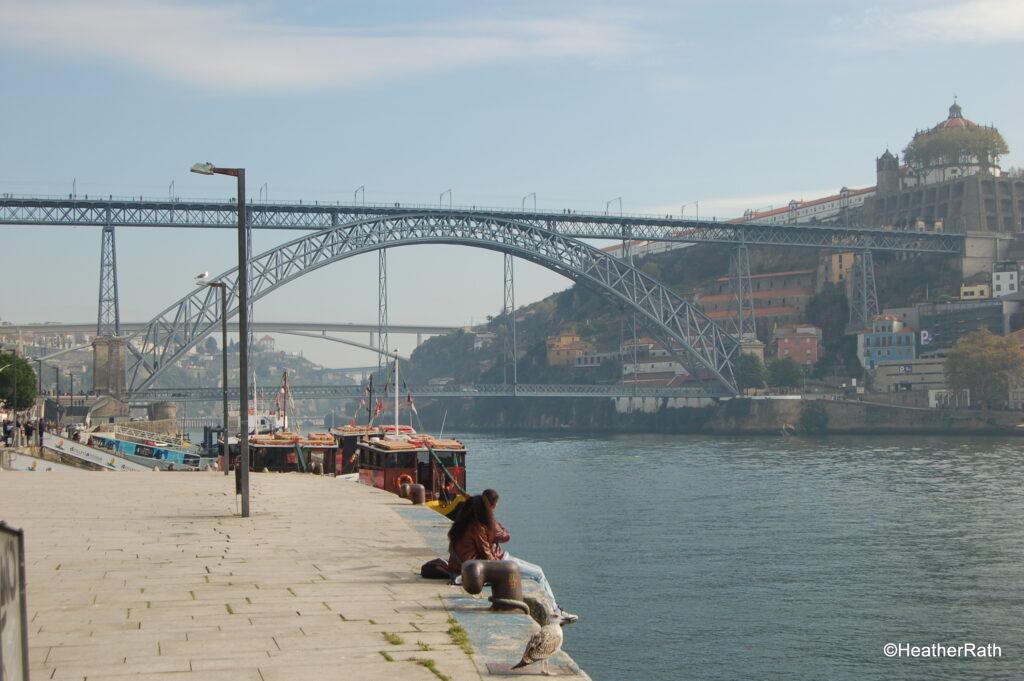 Bridge connection Porto and Vila Nova de Gaia