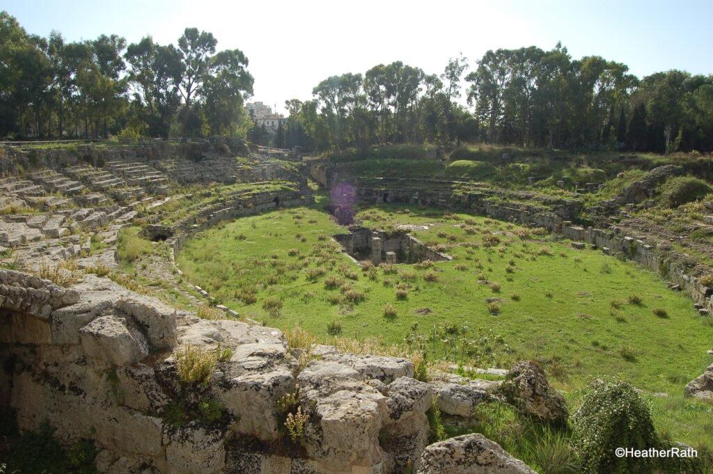 Roman amphitheatre at Siracusa