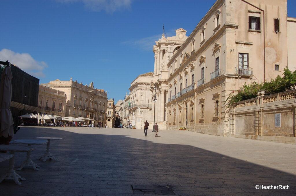 Piazza Duomo in Ortigia
